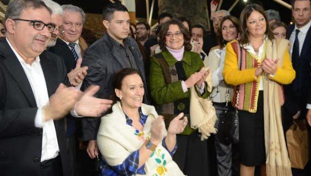 Michetti y Frigerio participarían de la inauguración del Poncho