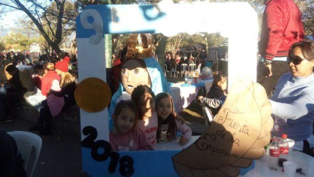 Comunicadores de María, distinguidos en la Fiesta Municipal de la Empanada