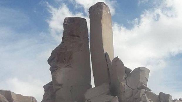 Se derrumbó un torreón icono de Antofagasta