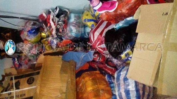 Secuestran mercadería ilegal valuada en 100 mil pesos