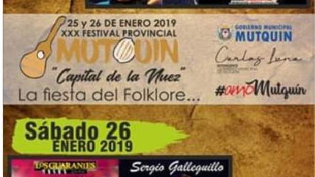 """Todo listo para el festival """"Mutquín, capital de la Nuez"""""""