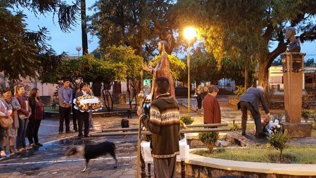Emotivos actos en El Suncho y Piedra Blanca recordando a Fray Mamerto Esquiú