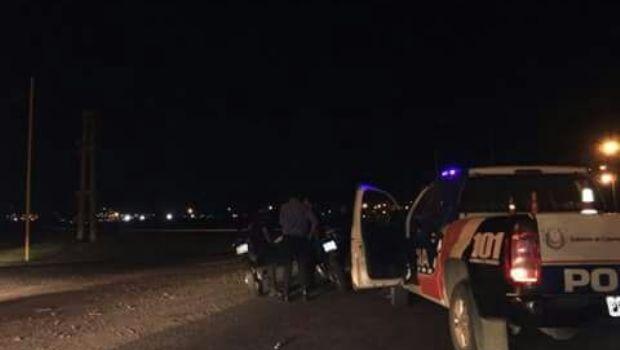 Asisten a un hombre que protagonizó un accidente en el Alto Fariñango