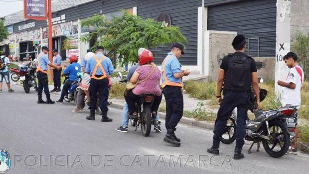 Media docena de motos al corralón