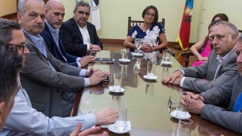 Corpacci recibió a la Cámara Argentina de Empresarios Mineros
