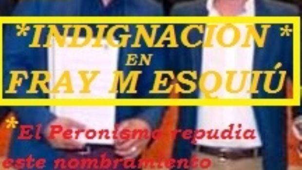 Ferreyra detonó la unidad peronista en Fray