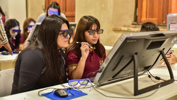 En marcha el aula de realidad virtual en el CID