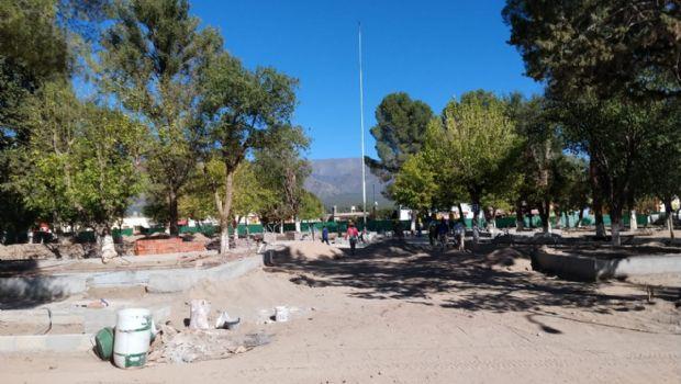 La remodelación de la plaza de San José tiene un avance de un 60%