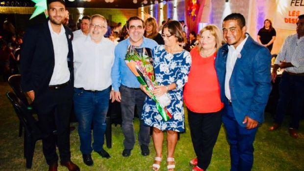 Lucía compartió una cena con mujeres legislativas