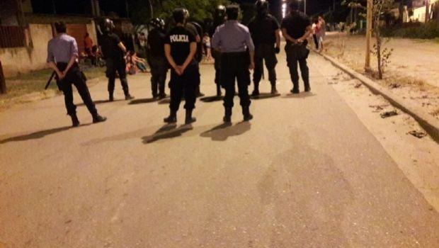 Policías impidieron la usurpación de terrenos en Valle Viejo