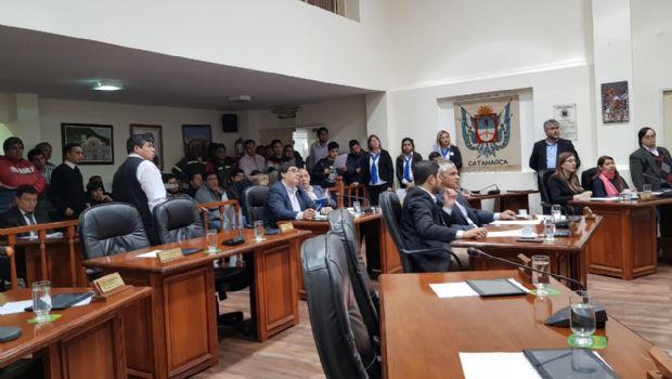 Concejales aprobaron el aporte solidario del SOEM