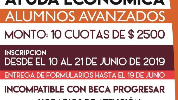 Requisitos para la inscripción Becas de Ayuda Económica 2019
