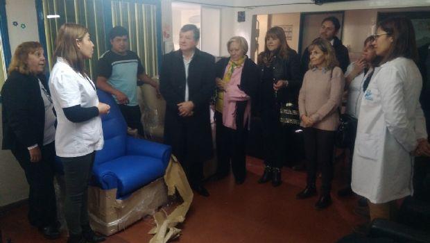Donación de sillones oncológicos para el Hospital San Juan