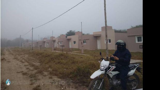 Aprehenden a nueve mujeres por usurpar terrenos en Valle Viejo