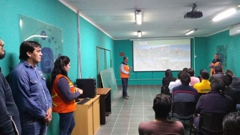 En Hualfín, se presentó el proyecto Veta Macho Muerto